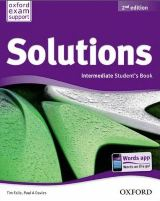 Solutions (Second Edition) Intermediate. Student's Book