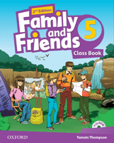 Family and Friends 2d Edition 5 Class Book