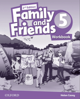 Family and Friends 2d Edition 5 Workbook