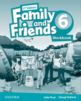 Family and Friends 2d Edition 6 Workbook