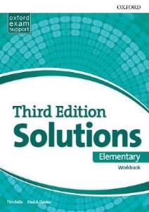 Ответы Solutions (Third Edition) Elementary Workbook Answers