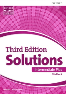 Solutions (Third Edition) Intermediate Plus. Workbook