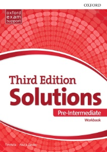 Ответы Solutions (Third Edition) Pre-Intermediate Workbook Answers